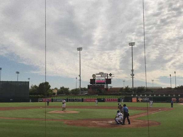 Camelback Ranch, section: 17, row: 10, seat: 1