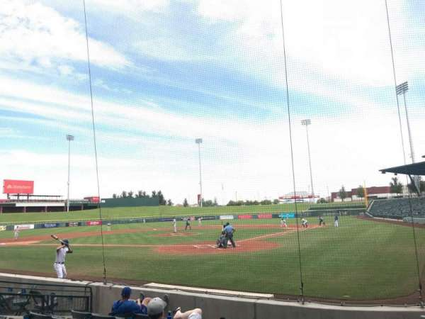 Sloan Park, section: 110, row: 8, seat: 11