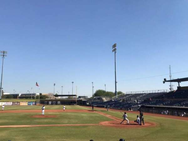 Peoria Sports Complex, section: 107, row: N, seat: 4