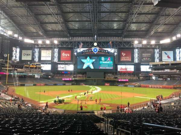 Chase Field, section: 122, row: 37, seat: 2