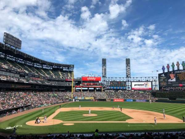 Guaranteed Rate Field, section: 127, row: 33, seat: 2