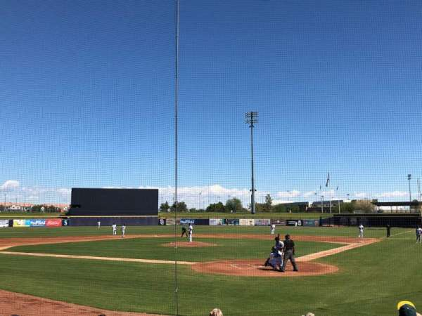 Peoria Sports Complex, section: 101, row: K, seat: 10
