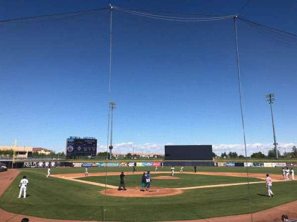 Peoria Sports Complex, section: 101, row: L, seat: 3
