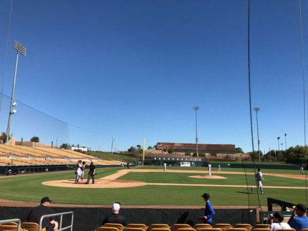 Camelback Ranch, section: 11, row: 8, seat: 8