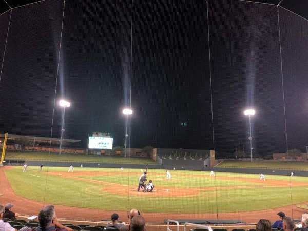 Salt River Fields, section: 112, row: 10, seat: 1