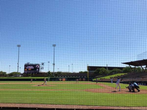 Camelback Ranch, section: 19, row: 4, seat: 1