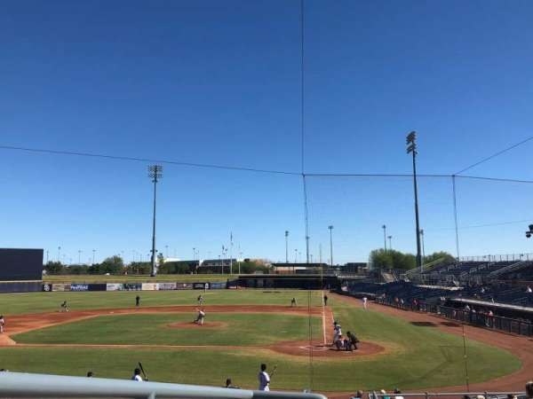 Peoria Sports Complex, section: 205, row: DD, seat: 10
