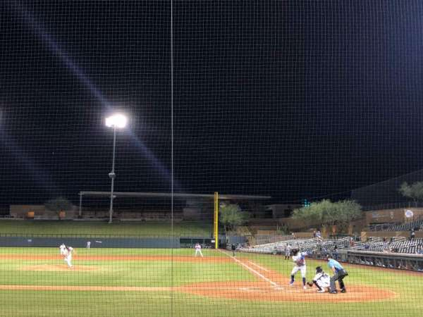 Salt River Fields, section: 115, row: 8, seat: 1