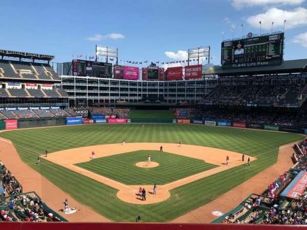 Globe Life Park in Arlington, section: 226, row: 1, seat: 10
