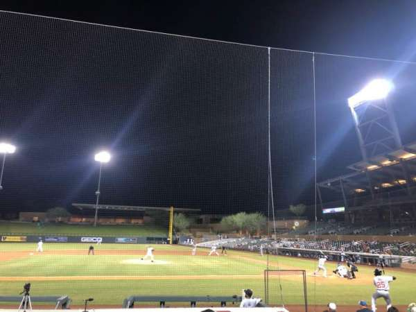 Salt River Fields, section: 116, row: 12, seat: 6