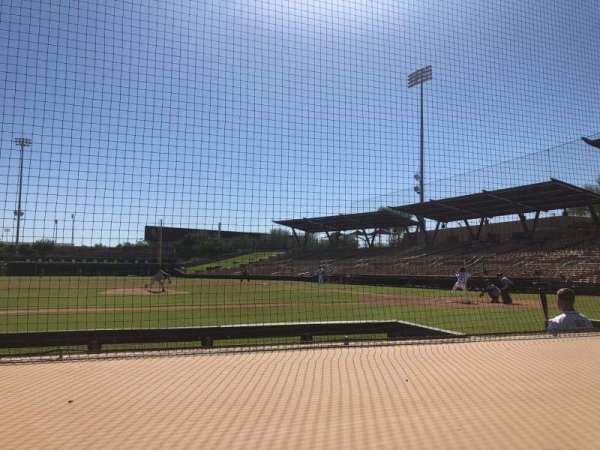Camelback Ranch, section: 21, row: 4, seat: 1
