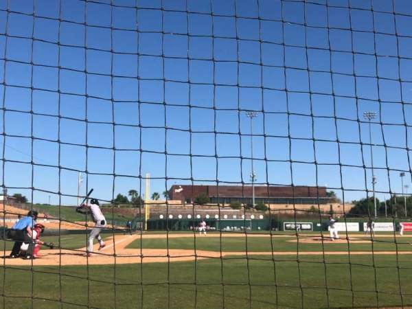 Camelback Ranch, section: 12, row: 1, seat: 1