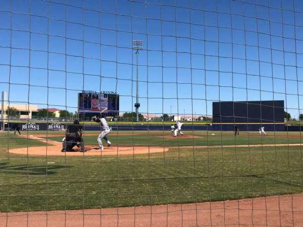 Peoria Sports Complex, section: 104, row: A, seat: 1