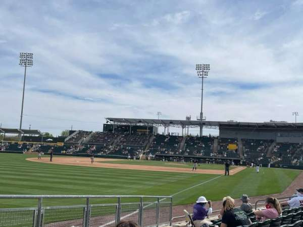 HoHoKam Stadium, section: 122, row: 8, seat: 21