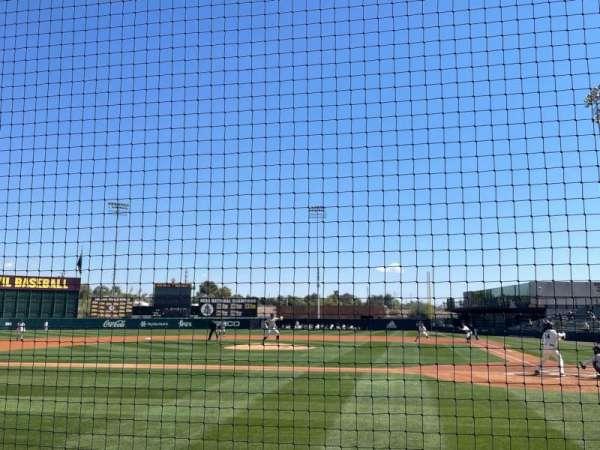 Phoenix Municipal Stadium, section: 6, row: 2, seat: 8