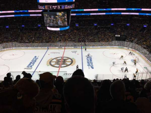 TD Garden, section: BAL 330, row: 11, seat: 18