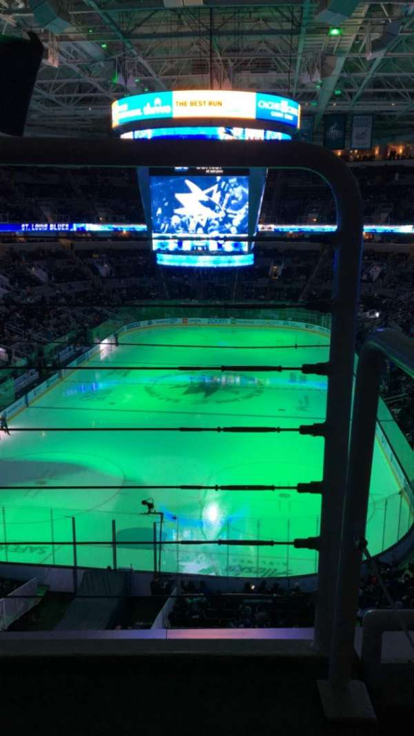 SAP Center, section: 221, row: 2, seat: 24