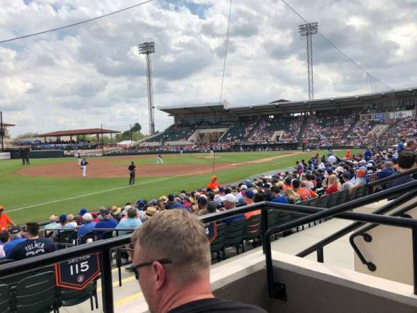 Joker Marchant Stadium, section: 215, row: B, seat: 4