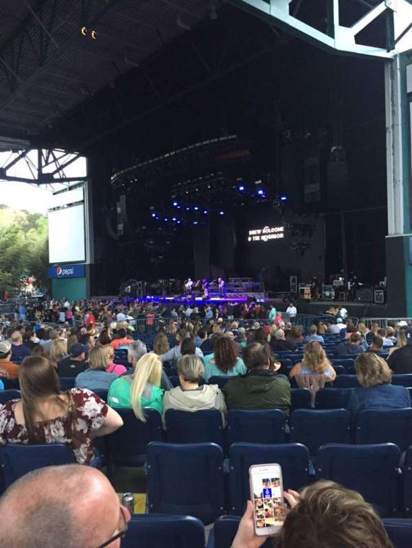 Veterans United Home Loans Amphitheater, section: 101, row: Y, seat: 15