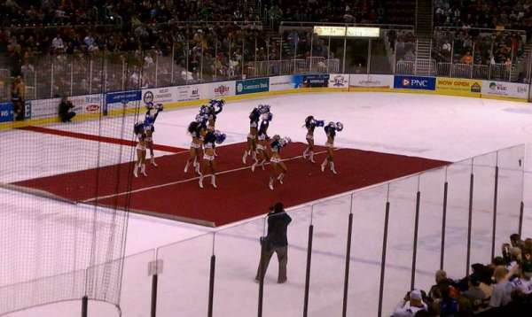 Carver Arena, section: 17, row: 3, seat: 1