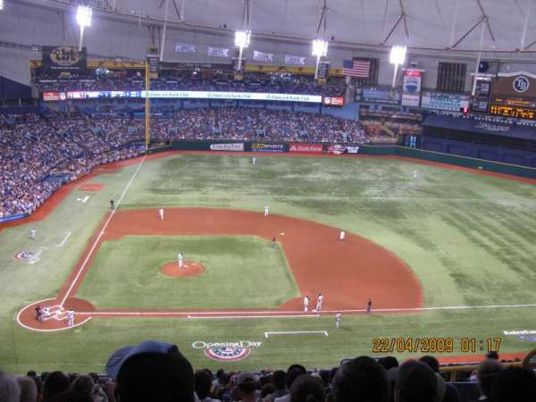Tropicana Field, section: 310, row: S