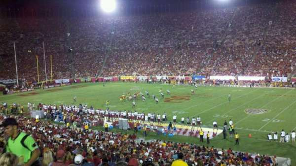 Los Angeles Memorial Coliseum, section: 5H, row: 43, seat: 104W