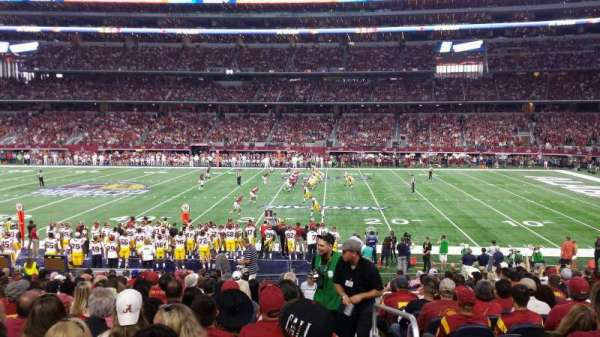 AT&T Stadium, section: c109, row: 19, seat: 1
