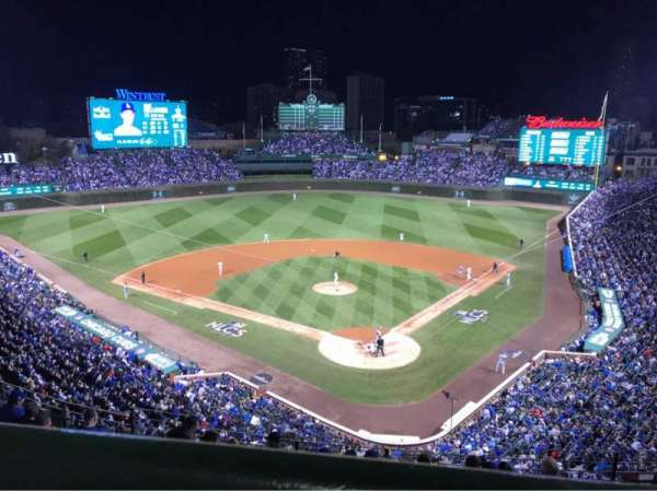 Wrigley Field, section: 316L, row: 10, seat: 10