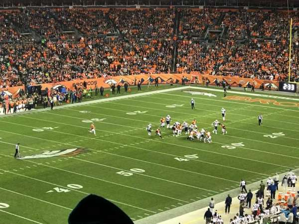 Broncos Stadium at Mile High, section: 343, row: 9, seat: 13