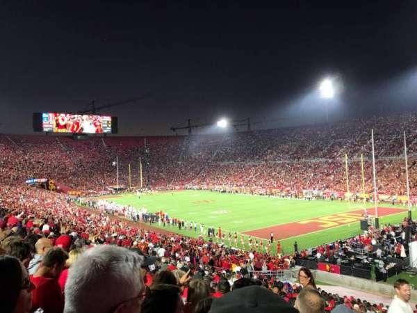 Los Angeles Memorial Coliseum, section: 102, row: 43, seat: 1