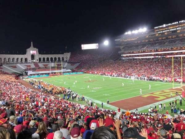 Los Angeles Memorial Coliseum, section: 117, row: 43, seat: 12