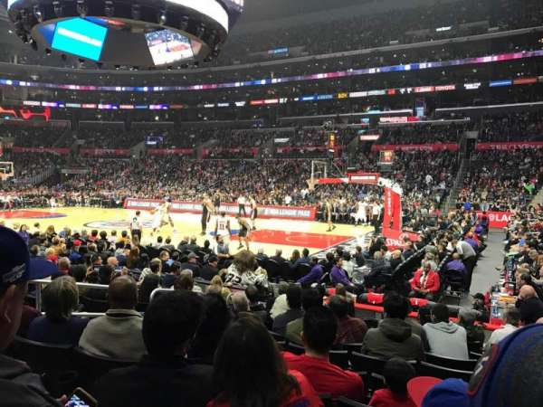 Staples Center, section: 109, row: 10, seat: 3