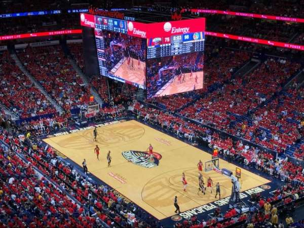 Smoothie King Center, section: 311, row: 16, seat: 18
