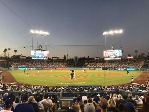 Dodger Stadium, section: 2FD, row: M, seat: 1