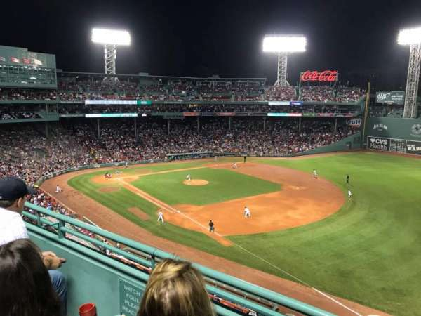 Fenway Park, section: Pavilion 15, row: B, seat: 11