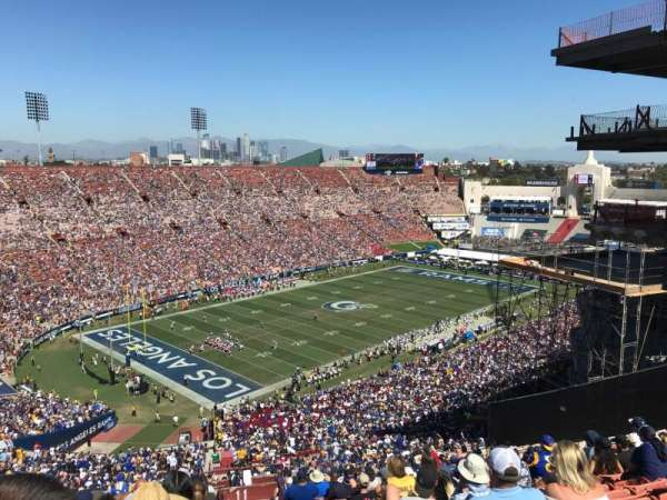 Los Angeles Memorial Coliseum, section: 311, row: 25, seat: 2