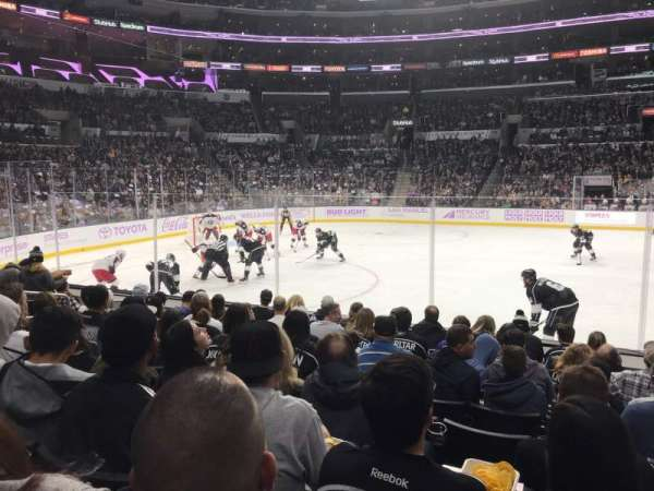 Staples Center, section: 112, row: 9, seat: 10