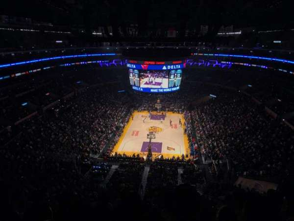 Staples Center, section: 309, row: 6, seat: 8