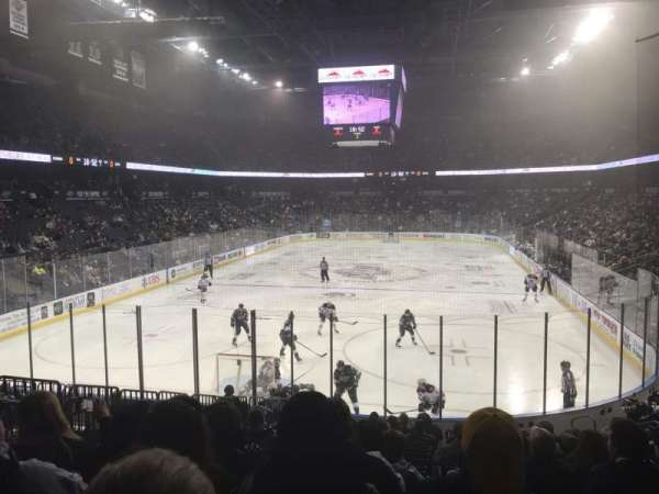 Citizens Business Bank Arena, section: 120, row: O, seat: 15