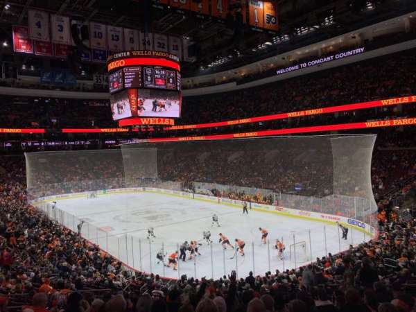 Wells Fargo Center, section: 117, row: 26, seat: 13