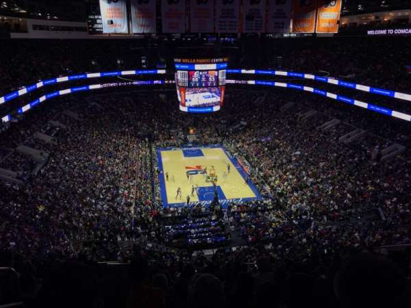 Wells Fargo Center, section: 219, row: 15, seat: 2