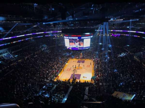 Staples Center, section: 308, row: 7, seat: 26
