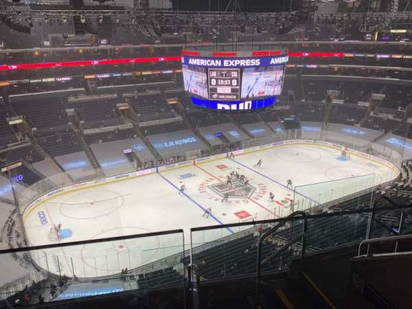 Staples Center, section: 321, row: 6, seat: 5