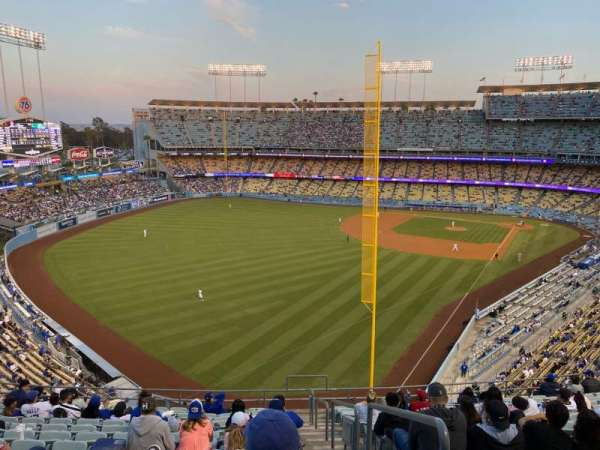 Dodger Stadium, section: 59RS, row: O, seat: 1
