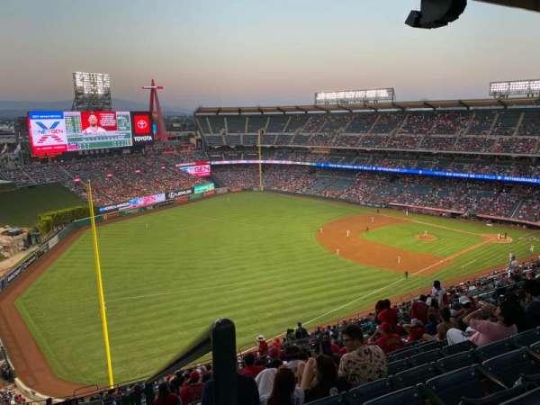 Angel Stadium, section: 506, row: R, seat: 25