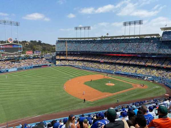 Dodger Stadium, section: 31RS, row: O, seat: 18