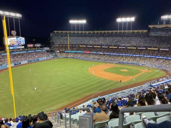 Dodger Stadium, section: 47RS, row: S, seat: 1