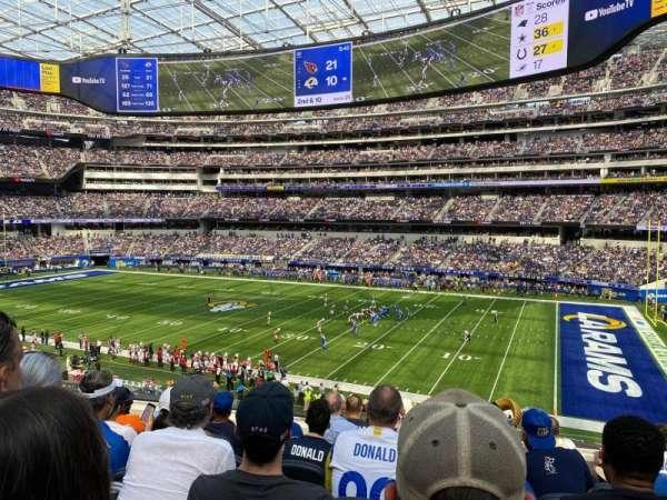 SoFi Stadium, section: C223, row: 7, seat: 10