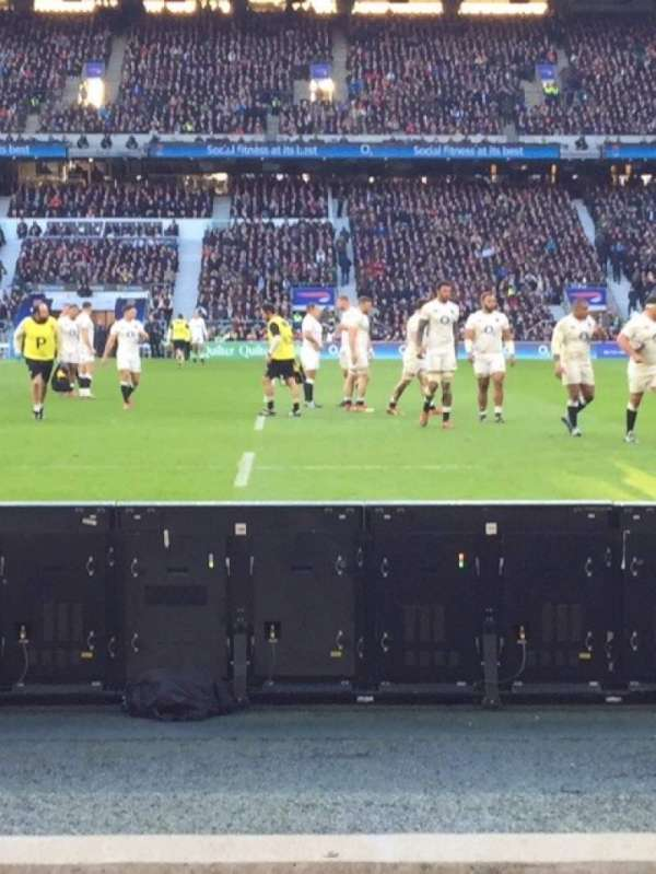 Twickenham Stadium, section: L24, row: 3, seat: 184