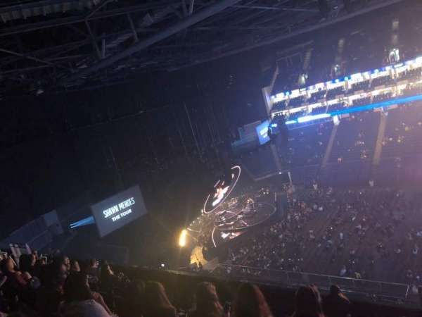 The O2 Arena, section: 404, row: H, seat: 535-537